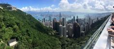 Victoria's Peak, overlooking Hong Kong
