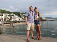 On Playa Los Muertos Pier