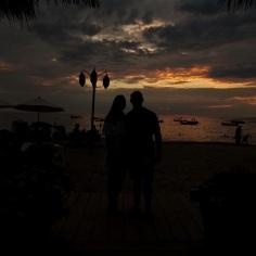 Sunset at La Palapa