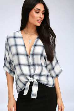 https://www.lulus.com/products/plaid-girls-club-blue-and-white-plaid-tie-front-top/629182.html